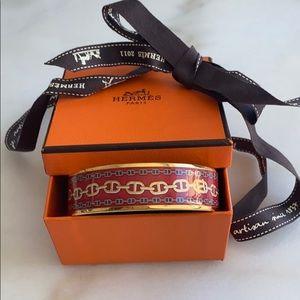 Hermes enamel bangle / bracelet